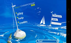 Sailboat Championship Pro - Menu
