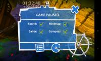Sailboat Championship Pro - Pause menu