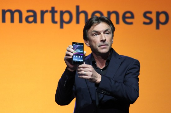Sony Unveils the Xperia Z at CES 2013