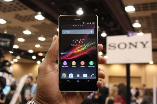 Sony Xperia Z – Android smartphone with 5 inch 1080p Full HD screen