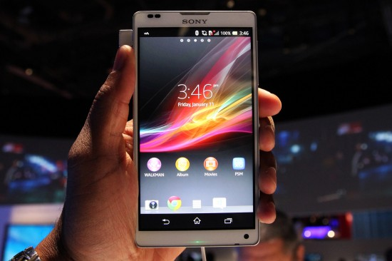 Sony Xperia ZL (Hands-on Video)