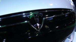 Tesla Model S Grille Logo