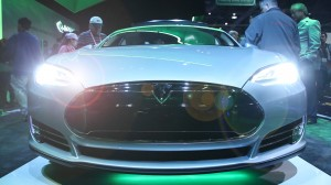 Tesla Model S Headlights