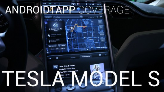 Tesla Model S – Luxury Electric Car with Tegra Powered Infotainment System