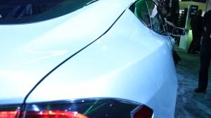 Tesla Model S Rear Lines