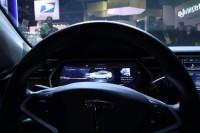 Tesla Model S Steering Dash Infotainment Center