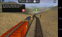 Trainz Driver - Tutorial and instructions explain how to control the train