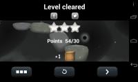 Tupsu - Level cleared