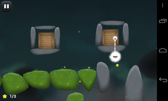 Tupsu – The Furry Little Monster. A 'Must Play' sticky-eyed physics puzzler!