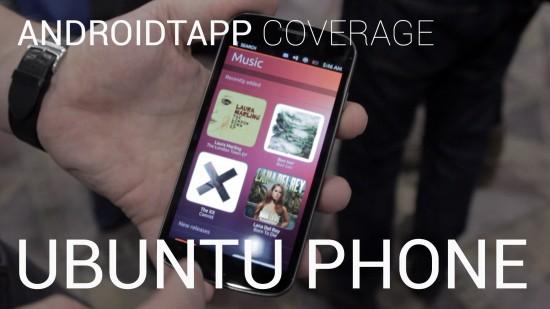 Ubuntu Phone (Hands-on Video)