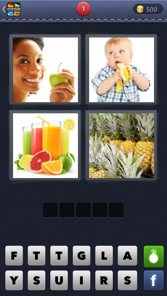 4 Pics 1 Word – What's the word? Are you playing this super addictive word association game?