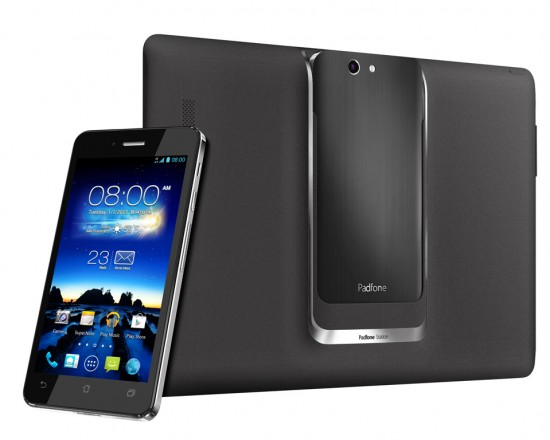 ASUS announces next-gen PadFone Infinity with Tablet Docking Station