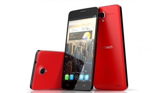Alcatel One Touch Idol X – high end Android with 5 inch 1080p screen