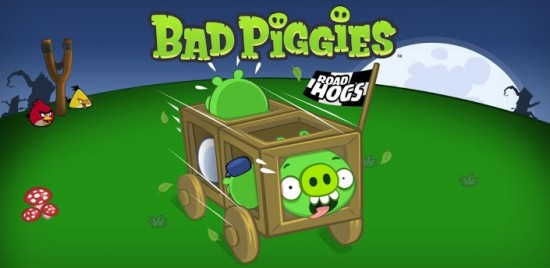 "Get the ""Road Hogs"" update for Bad Piggies – 30 new levels & time challenges"