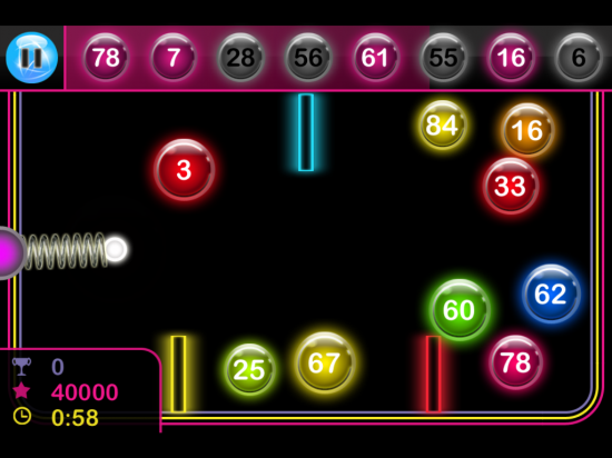 Bin-Glo – test your speed & aim in this bubble shooter with many twists!