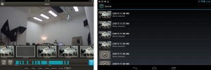 Dropcam iPad vs Android