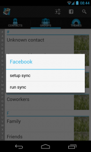 Full Screen Caller ID PRO - Facebook sync
