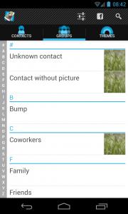 Full Screen Caller ID PRO - Groups