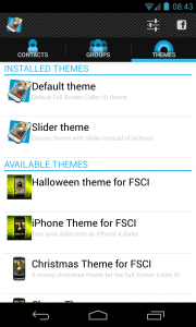 Full Screen Caller ID PRO - Themes