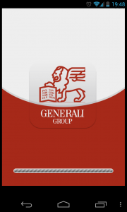 Generali - Loading screen