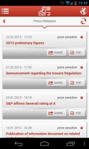 Generali - Press releases