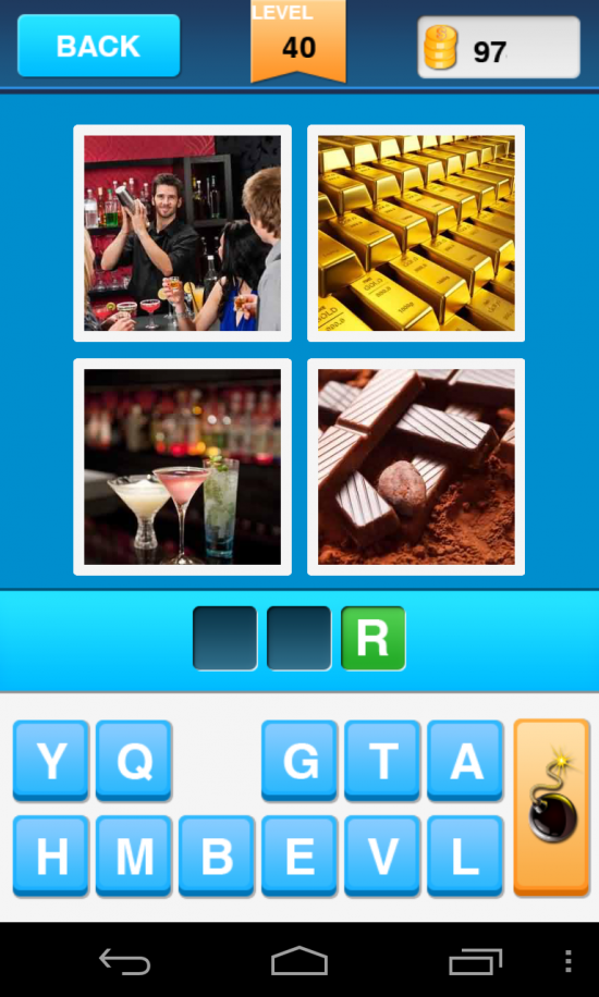 Guess The Word – 4 Pics 1 Word. Are you playing this addictive word association phenomenon?!?