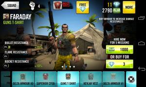 Guns 4 Hire - Individual mercenary upgrade