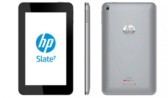 HP Slate 7 – HP's first Android tablet, launches April for $169.99