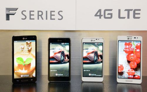 LG will debut Optimus F5 & Optimus F7 Android-powered LTE phones at Mobile World Congress
