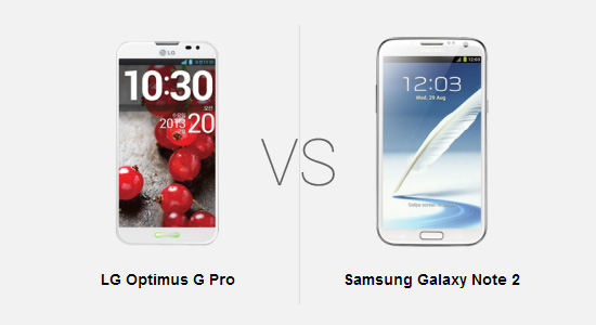 LG Optimus G Pro vs Samsung Galaxy Note 2: Battle of the Phablets!