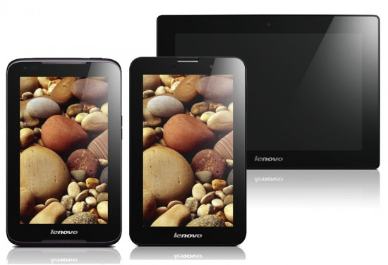 Lenovo announces 3 new Android tablets