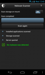 Mobile Security & Antivirus - Complete clean scan