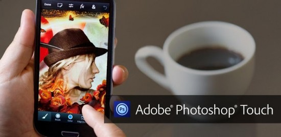 Photoshop Touch for Phone lands on Android