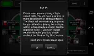 PokerStars.net - Buy in advice