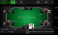 PokerStars.net - Pre-turn options really speed up gameplay