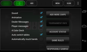 PokerStars.net - Settings