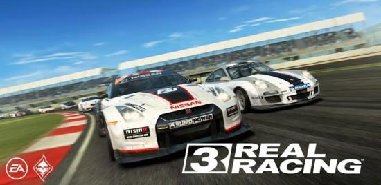 Real Racing 3 hits Google Play