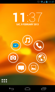Simple Launcher - Coloured backgrounds (2)