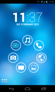 Simple Launcher - Coloured backgrounds (3)