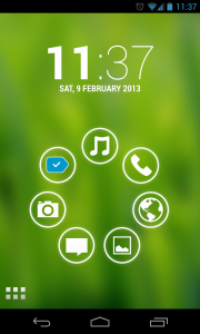 Simple Launcher - Coloured backgrounds (4)