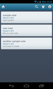 Simple Organizer Pro - View notes