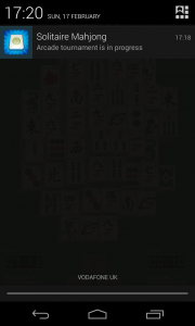Solitaire Mahjong - Notification