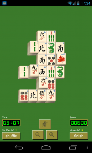 Solitaire Mahjong - Sample gameplay (4)
