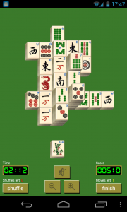 Solitaire Mahjong - Sample gameplay (5)