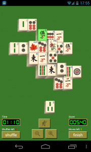 Solitaire Mahjong - Sample gameplay (6)