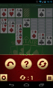 Solitare Champion HD - Pause menu 2