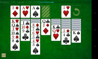 Solitare Champion HD - Landscape mode