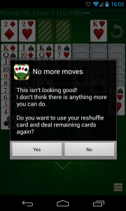 Solitare Champion HD - No more moves