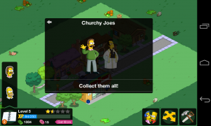 The Simpsons Tapped Out - Collect character groups