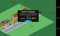 The Simpsons Tapped Out - Goal complete